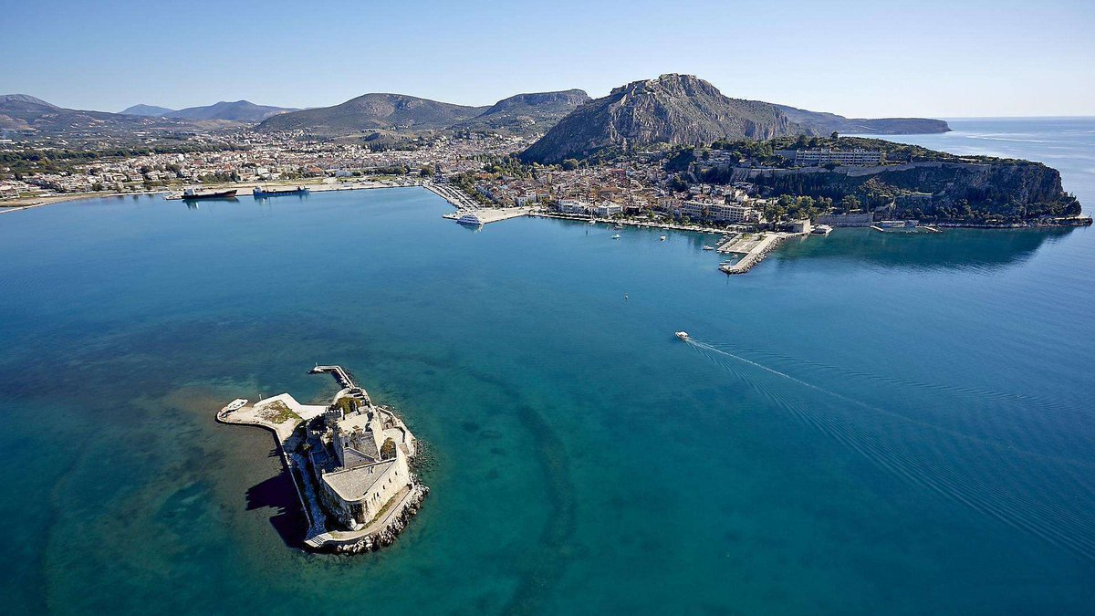 Nafplio. Is one of Greece's prettiest and most romantic towns..